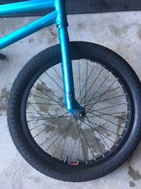 Blue and black bmx bike frame Barrie, L4N 0K1