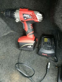 red and black Milwaukee cordless drill Plain City, 43064