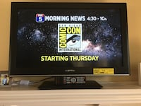 """Black flat screen tv with remote 32"""" San Diego, 92129"""