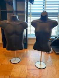 His and her mannequin set. Annandale, 22003