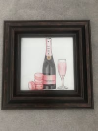 Champagne Moët painting Toronto