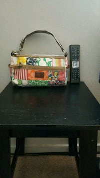Beautiful classic colored REAL Coach bag clutch. Spring collection  Nottingham, 21236