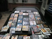 DVD, and blue ray movie's ,with a blue ray and DVD player....