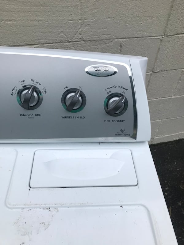 GE  washer and whirpool gas dryer  3