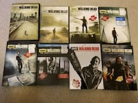 All 8 seasons of the walking dead dvds Tacoma, 98404
