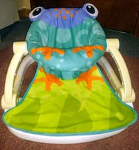 Frog sit n play folds down for storage