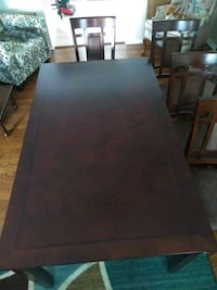 rectangular brown wooden table with chairs Laurel, 20708