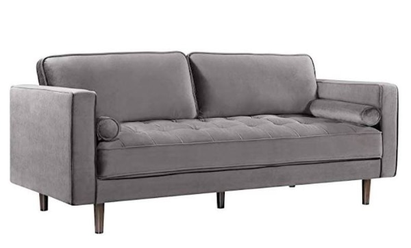 gray modern sofa sale--new--88 inches w 41baeb49-9f90-4247-9c60-6eb8303f7793
