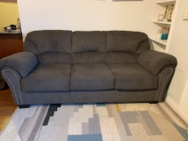 Grey Ashely furniture couch