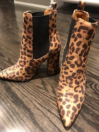 Leopard Booties King, L7B