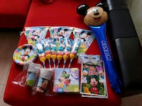 Set cumpleaños Mickey Mouse