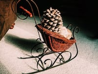 Christmas basket for Christmas holidays will surely decorate your home 2265 mi