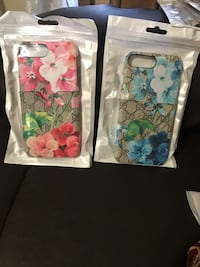 Two floral gucci iphone case packs