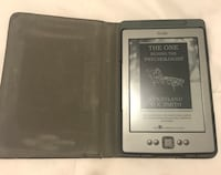 Gray amazon kindle E-reader with flip case Tracy, 95376