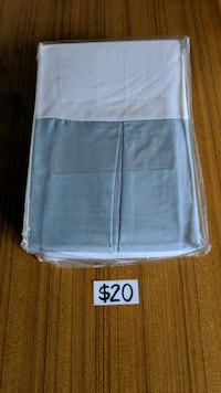 Gorgeous Queen Light Blue Bed Skirt Mississauga, L5M 4S9