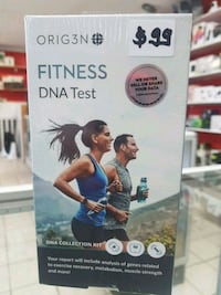 Orig3n Fitness DNA Test,Brand New Sealed  #298_4567 Toronto, M5A 2G5