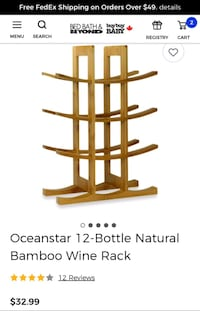 New Bamboo wine rack Calgary, T3N 0E4