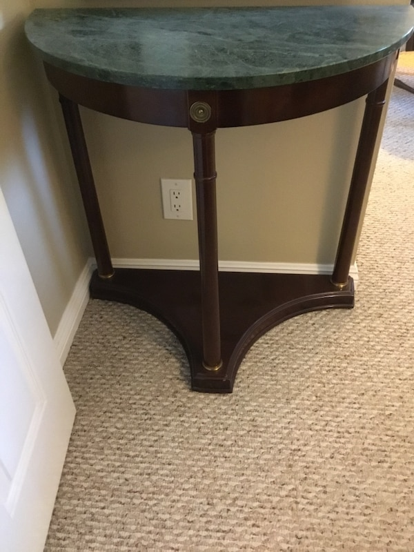 Used Bombay Half Moon Wall Table For Sale In Whittier Letgo