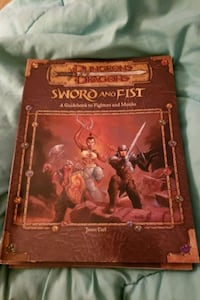 Dungeons and dragons sword and fist guidebook to fighters and monk Tewksbury, 01876