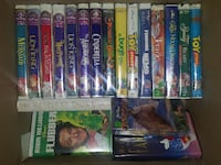 ASSORTED VHS DISNEY...Disney/Pixar