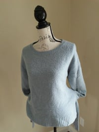 Powder blue sweater size Med.