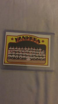 yankees collectible card