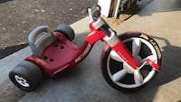 red and white Radio Flyer trike Stafford, 22556