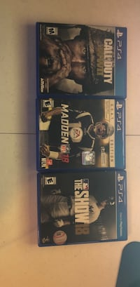 PS4 games  Connelly Springs, 28612