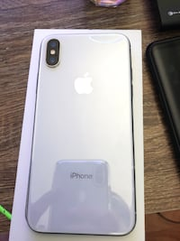 iPhone X 64gb Silver Georgetown, L7G 3P8