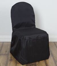 82 black banquet chairs (cash only)