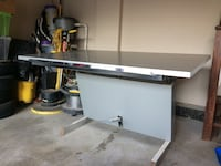 white and gray metal table Surrey, V3S 7W9