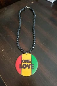 """""""one love"""" necklace"""