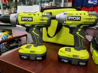 18V ONE+™ LITHIUM-ION DRILL AND IMPACT DRIVER KIT   Toronto