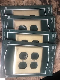 Brass Plated Outlet Covers