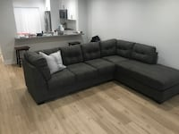 Gray L sectional couch  Miami, 33196