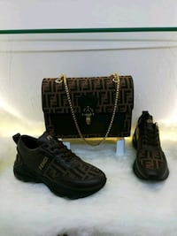 New Fendy bag and shoes. Selling the set San Antonio, 78228