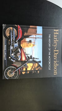 Harley Davidson - the history of the motorcycle Guelph, N1E