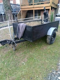 black and gray utility trailer Baltimore, 21218