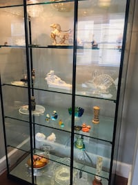 Stunning Glass Display Cabinet. REDUCED!