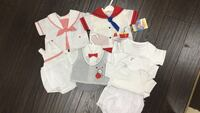 Baby clothes - sets x 4 Richmond, V7A 3S4