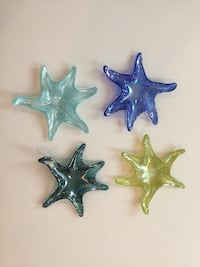 Glass starfish (4). Germantown, 20874
