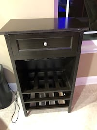 Black Wine Rack Like New North Augusta, 29841