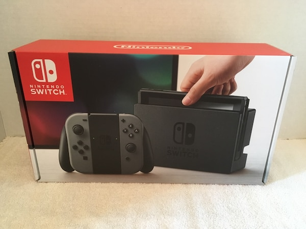 Used Brand New Nintendo Switch Console, Gray for sale in New York