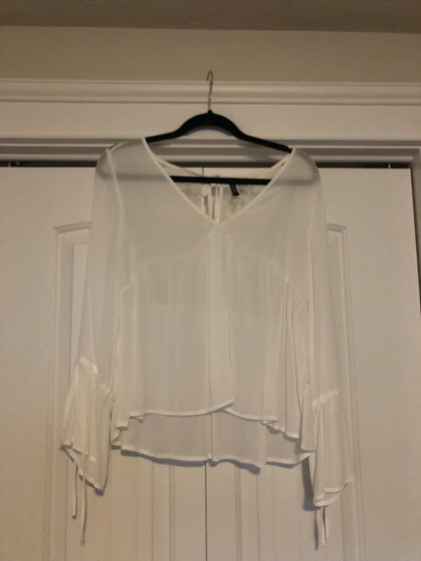 Babydoll Style Blouse with Bell Sleeves