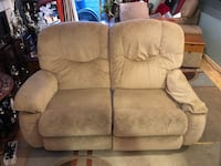 brown suede 2-seat sofa Daly City, 94015
