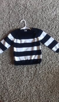 black and white striped sweater Windsor Mill, 21244