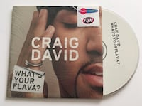 Craig David, what's your flava? CD single Saint-Laurent-Blangy, 62223