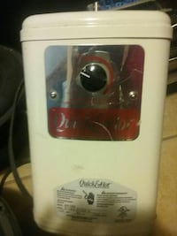 whtie Quick and Hot home appliance