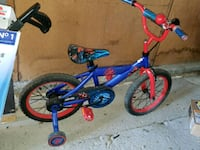 Spiderman kids bike  Winnipeg, R3K 1A3