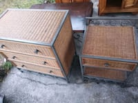 Wicker dresser set North Charleston, 29405